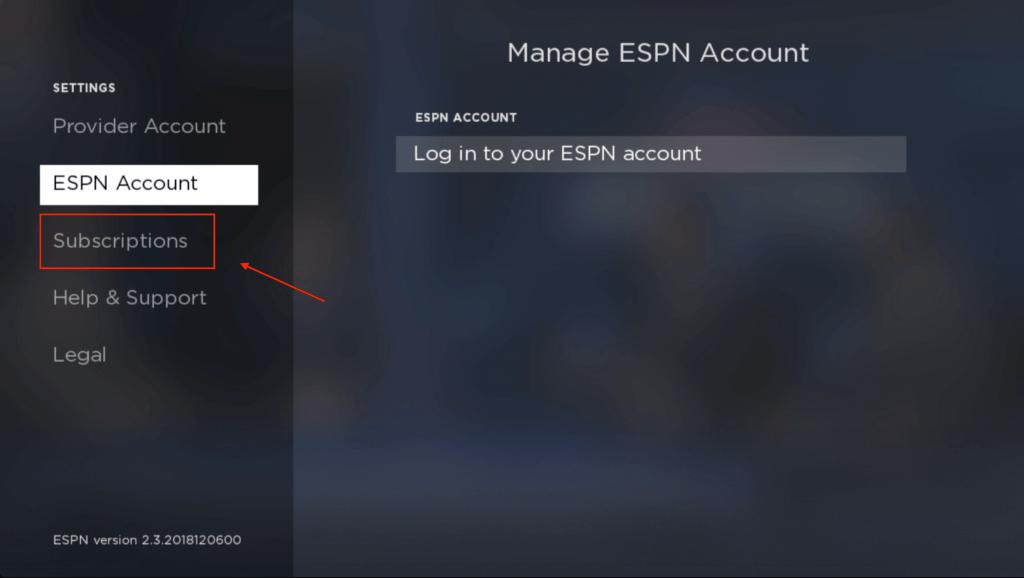 Activate ESPN Plus on Roku