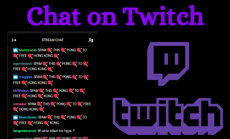 Chat on Twitch