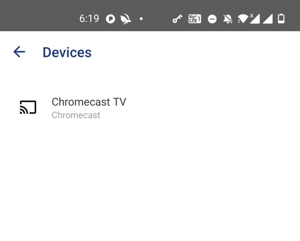 Chromecast Pandora Music