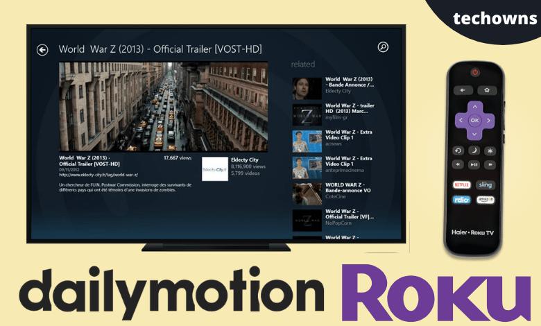 Dailymotion on Roku