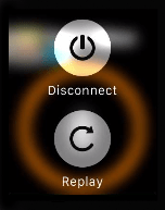 Replay and Disconnect - Zello on Apple Watch