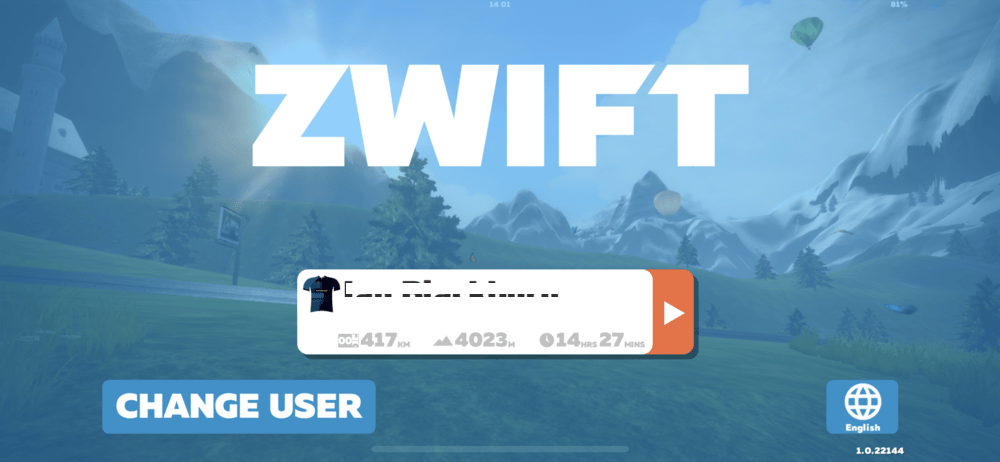 Sign up For Zwift