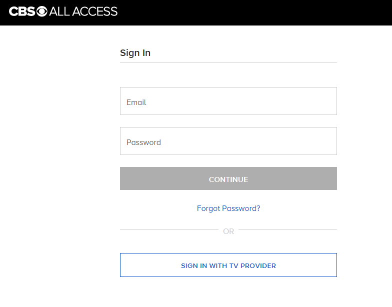 Sign in CBS All Access account to watch Super Bowl on Chromecast