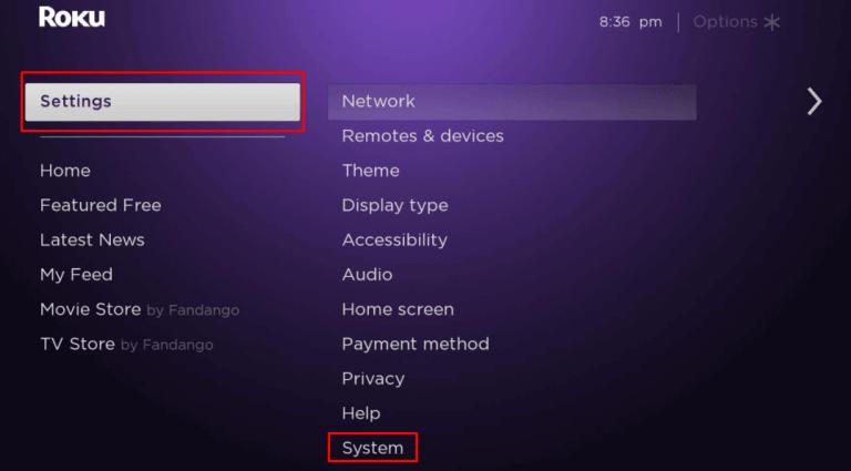 Click System - Zwift on Roku