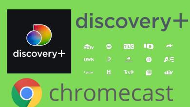 Chromecast Discovery Plus