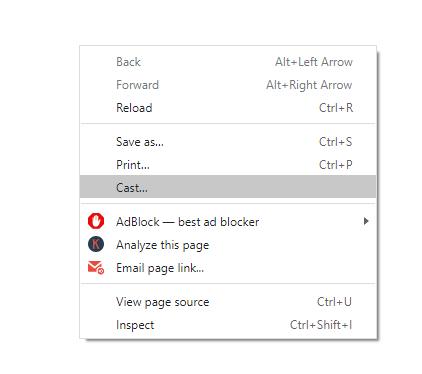 Chromecast GoToMeeting using PC