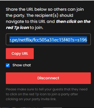 Chromecast Netflix Party or Teleparty