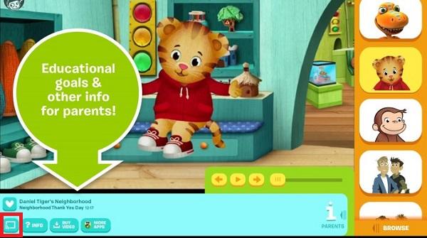 Chromecast PBS Kids from Smartphone