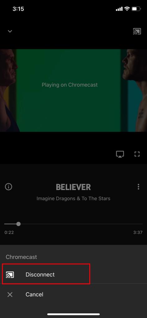 Chromecast YouTube Music