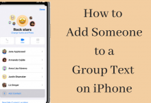 Add Someone to a Group Text on iPhone