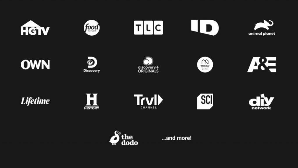 Discovery Plus on TiVo Stream