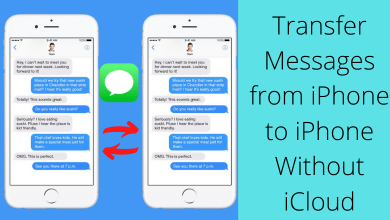 How to Transfer Messages from iPhone to iPhone Without iCloud