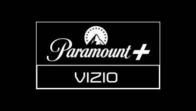Paramount Plus on Vizio Smart TV