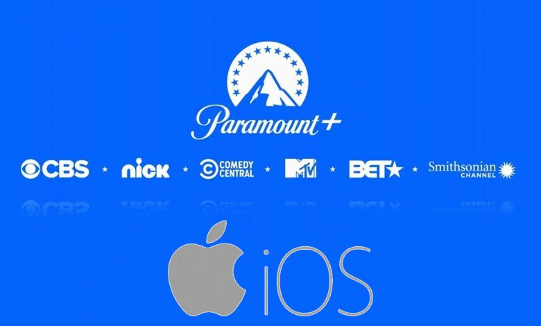 Paramount Plus on iPhone