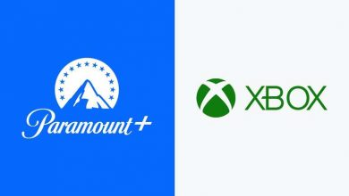 Paramount Plus on Xbox