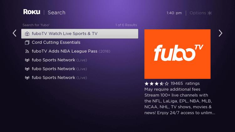 Select fuboTV