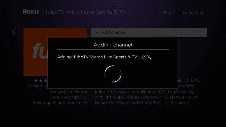 Install the Channel
