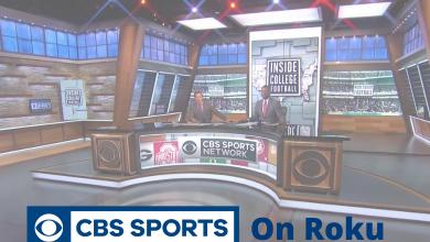CBS Sports on Roku