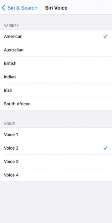 Choose the voice