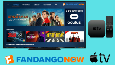 FandangoNow on Apple TV