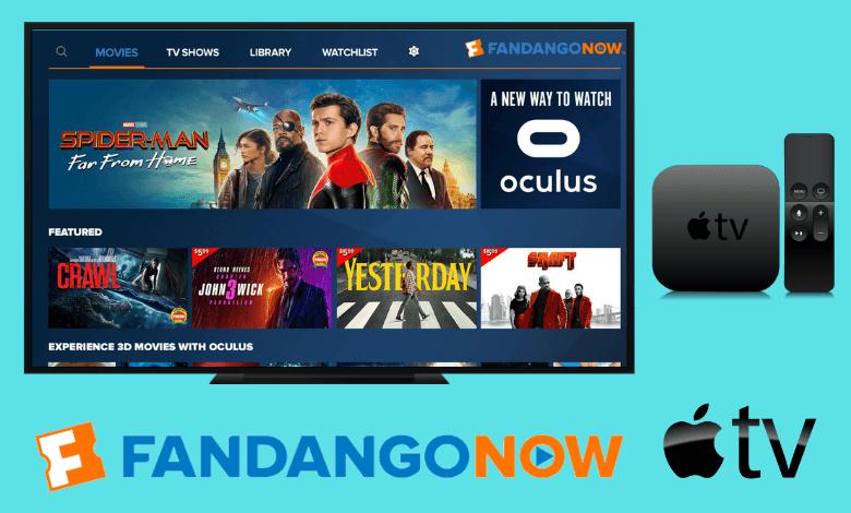 FandangoNow on Apple TV