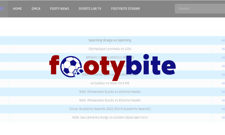 FootyBite - Watch All Your Favorite Football Matches Online - TechOwns