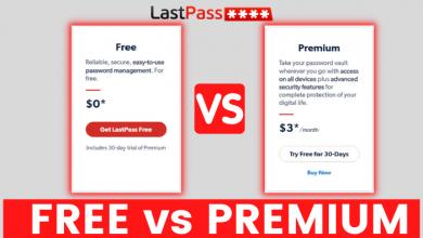LastPass Premium vs Free