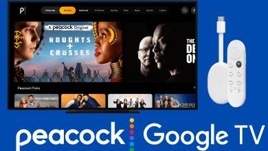 Peacock TV on Google TV