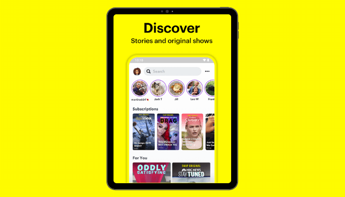 discover - Snapchat Premium for Free