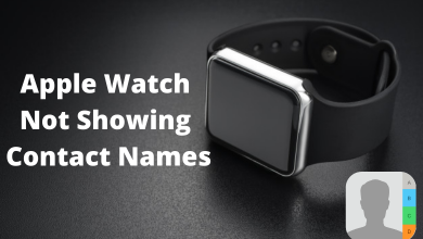 Apple Watch Not Showing Contact Names