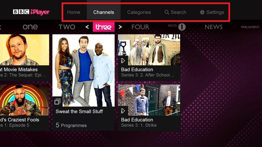 BBC iPlayer for Xbox 360/One