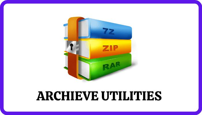 Archieve utilities - Best Utilities for Windows
