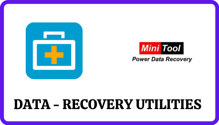 data recovery - Best Utilities for Windows