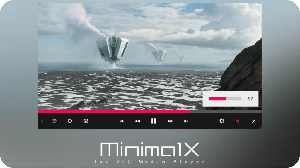 minimalx - Best VLC Skins