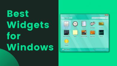 Best Widgets for Windows