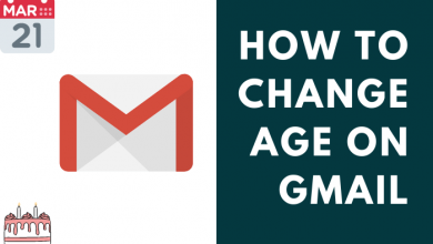 Change Age on Gmail