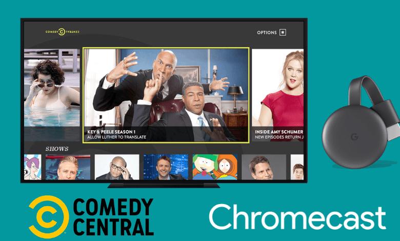 Chromecast Comedy Central