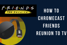 Chromecast Friends Reunion