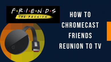 Chromecast Friends Reunion