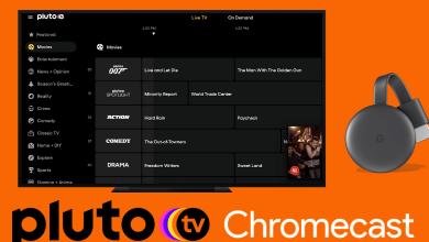 Chromecast Pluto TV