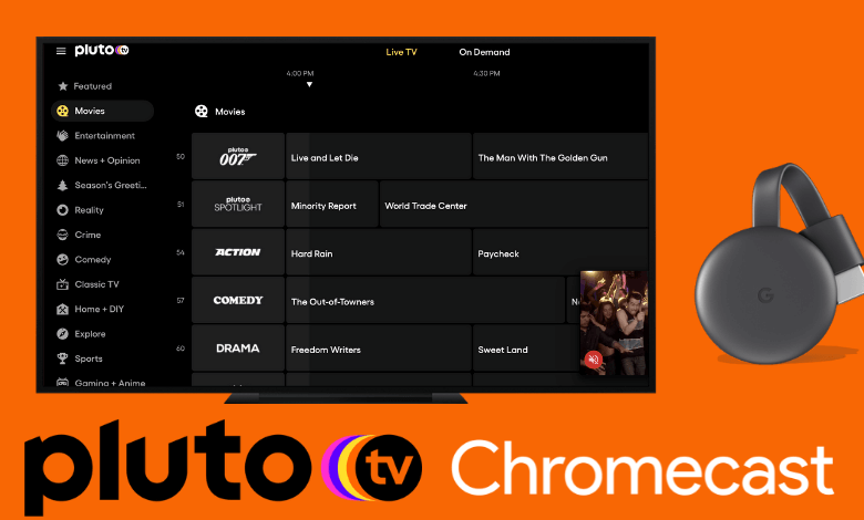 How to Chromecast Pluto TV in Two Ways - TechOwns