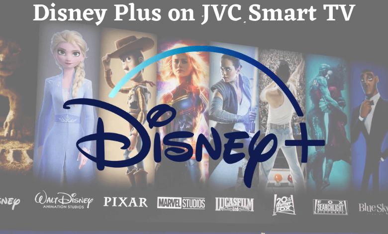 Disney Plus on JVC Smart TV