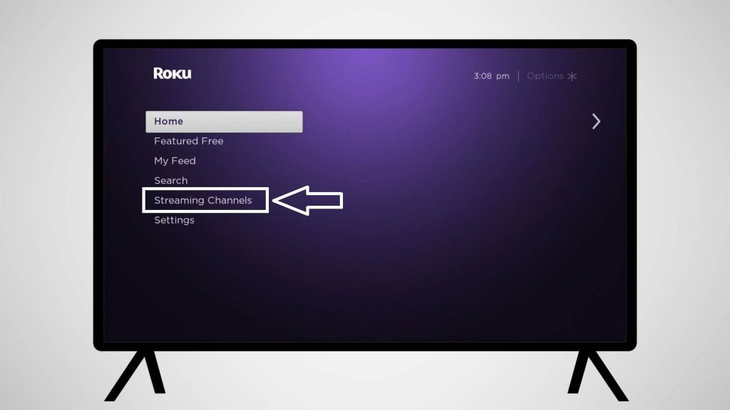 click streaming channels - FETV Roku