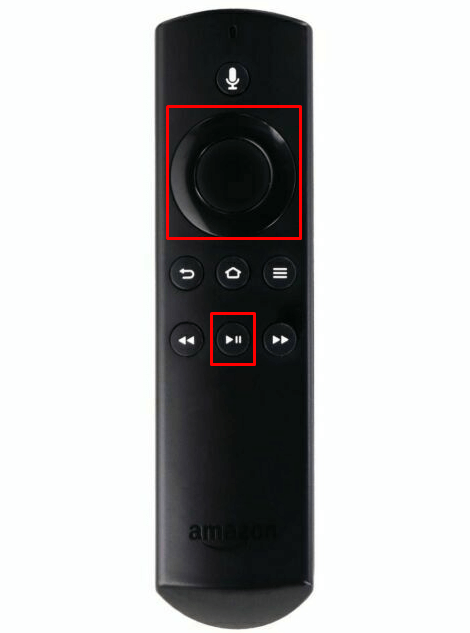 Press the Select and Play button