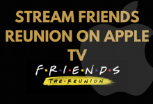 Friends Reunion on Apple TV