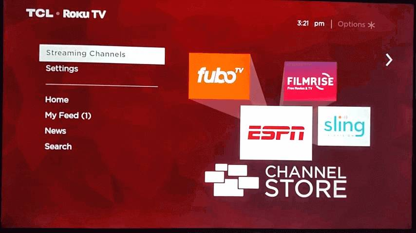click streaming channels