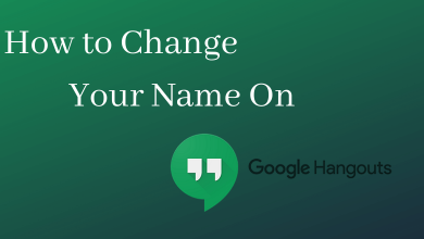 How to Change your Name on Go