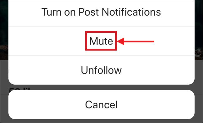 tap mute