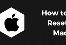 How to Reset Mac