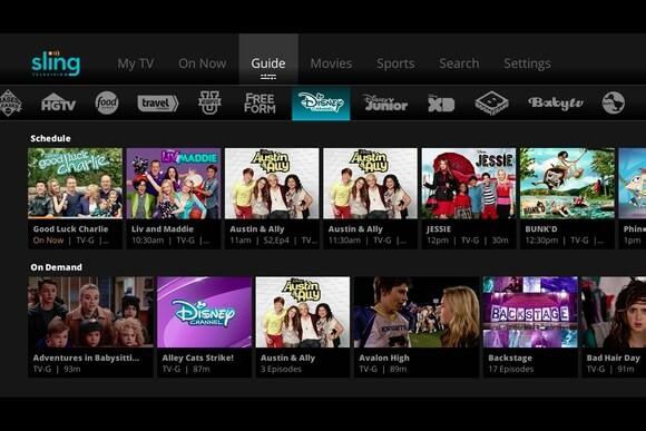 stream - Sling TV on Google TV